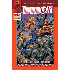 Marvel Coleccion Extra Superheroes - Thunderbolts nº 03: Secretos Dentro de Secretos