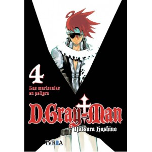 D.Gray-man nº 04
