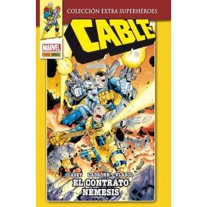 Marvel Coleccion Extra Superhéroes - Cable: El Contrato Nemesis
