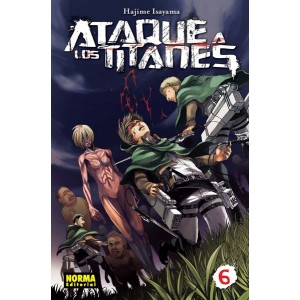 Ataque a los Titanes nº 06