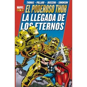 Marvel Gold - El Poderoso Thor: La Llegada de los Eternos