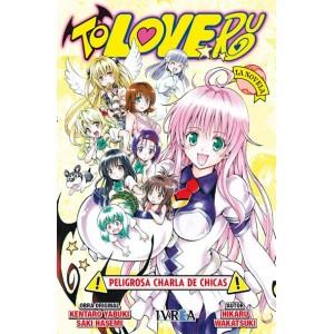 To-Love Ru: Peligrosa Charla de Chicas ( La Novela)