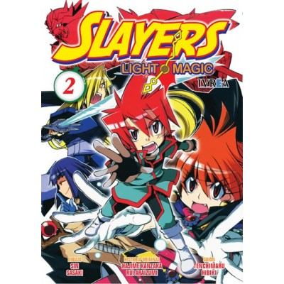 Slayers Light Magic Nº 02