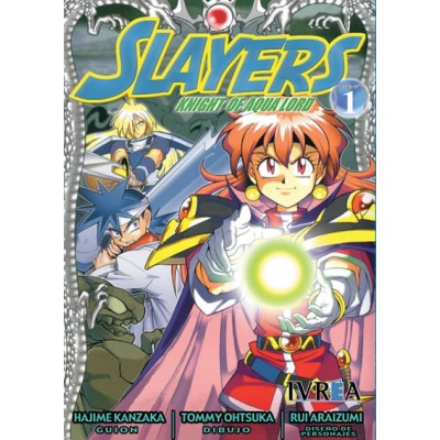 Slayers: Knight Of Aqualord Nº 01
