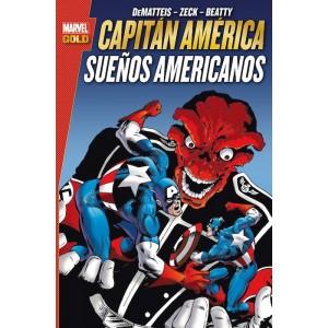Marvel Gold - Capitán Amárica: Sueños Americanos