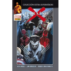 Marvel Coleccion Extra Superhéroes - Paraiso X