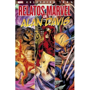 Marvel Coleccion 100% - Relatos Marvel Alan Davis