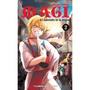 Magi El Laberinto de la Magia nº 02