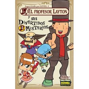 El Profesor Layton y Sus Divertidos Misterios nº 04