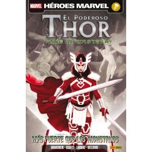 Héroes Marvel - El Poderoso Thor: Viaje al Misterio 4 Más fuerte que los monstruos