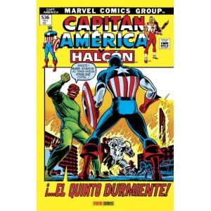 Marvel Gold. Capitán América y El Halcón 3: ¡El quinto durmiente!