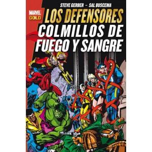 Marvel Gold - Los Defensores: Colmillos de Fuego y Sangre