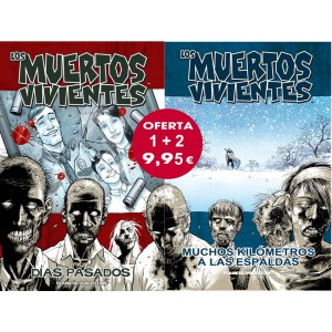 Pack Los Muertos Vivientes nº01 + nº 02