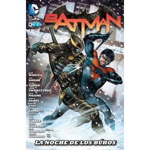 Batman (reedición trimestral) nº 04: La Noche de los Búhos