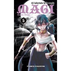 Magi El Laberinto de la Magia nº 05