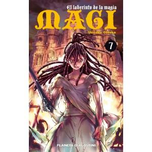 Magi El Laberinto de la Magia nº 07