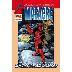 Marvel Coleccion Extra Superheroes - Masacre nº 04: El Autoestopista Galáctico