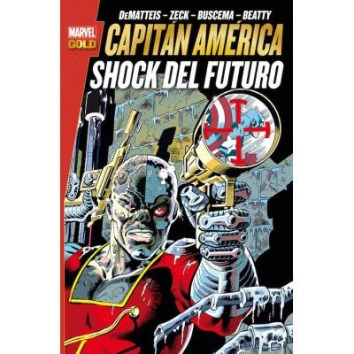 Marvel Gold - Capitan America: Sueños Americanos
