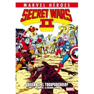 Marvel Héroes 53 Secret Wars II: ¿Quién es el Todopoderoso?