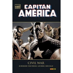 Marvel Deluxe. Capitán América 4 Civil War