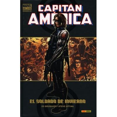Marvel Deluxe. Capitán América 3 Amenaza Roja