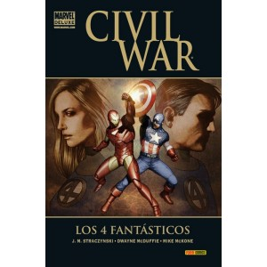 Marvel Deluxe. Civil War: Los 4 Fantásticos