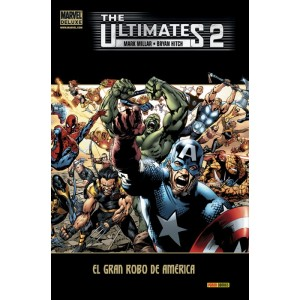 Marvel Deluxe. The Ultimates 2 El gran robo de América