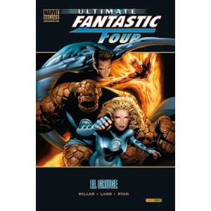 Marvel Deluxe. Ultimate Fantastic Four 3 El cruce
