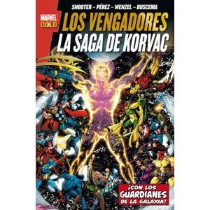 Marvel Gold. Los Vengadores: La saga de Korvac Edición Definitiva