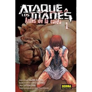 Ataque a los Titanes: Antes de la Caída nº 01