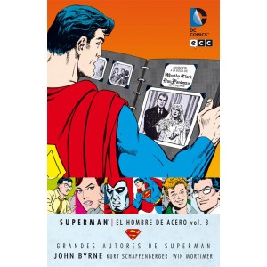 Grandes Autores de Superman: John Byrne - Superman: El Hombre de Acero nº 07