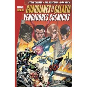 Marvel Gold. Guardianes de la Galaxia: Vengadores Cósmicos