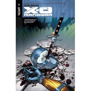 X-O Manowar 2 Llega Ninjak