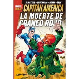 Marvel Gold. Capitán América: La Muerte de Cráneo Rojo