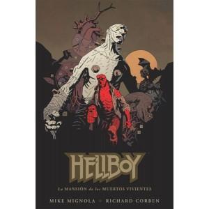 Hellboy nº 17: La Mansión de los Muertos Vivientes