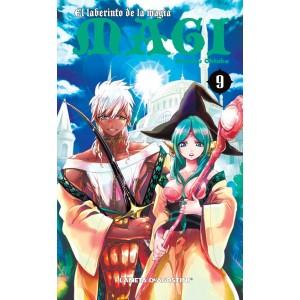 Magi El Laberinto de la Magia nº 09