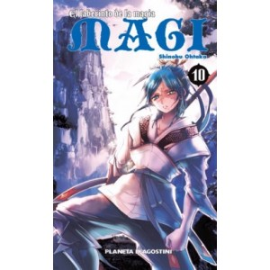 Magi El Laberinto de la Magia nº 10