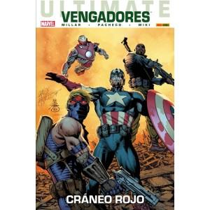Coleccionable Ultimate 54 Vengadores 1: Cráneo Rojo