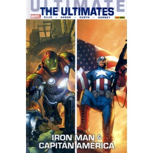Coleccionable Ultimate 58 - The Ultimates 6: Iron Man & Capitán América