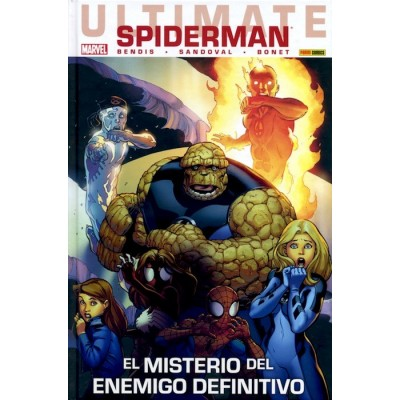 Coleccionable Ultimate 59 Spiderman 27: El misterio del enemigo definitivo