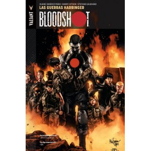Bloodshot 3 Las Guerras Harbinger