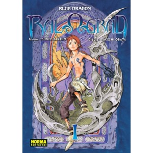 Blue Dragon RalΩGrad nº 01