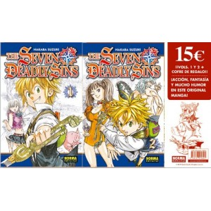 The Seven Deadly Sins Pack de Iniciacion
