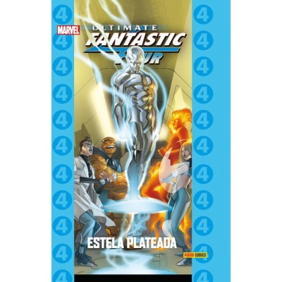 Coleccionable Ultimate 74 Fantastic Four 8: Estela Plateada