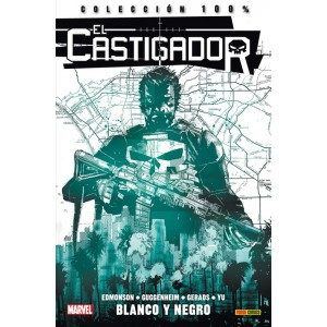 100% Marvel - Punisher: El Castigador 4 - Blanco y negro