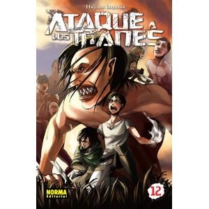 Ataque a los Titanes nº 12