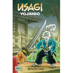 Usagi Yojimbo nº 28 - Escorpion Rojo