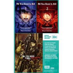 All You Need is Kill Pack Completo
