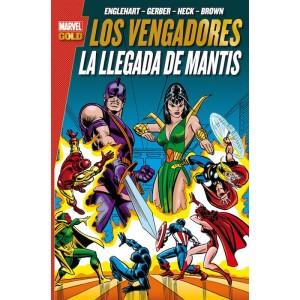 Marvel Gold. Los Vengadores: La llegada de Mantis
