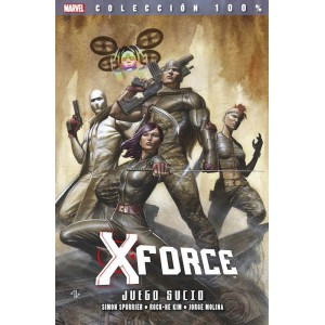 100% Marvel. X-Force 8 Juego sucio